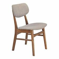 Zuo Midtown Dining Chair, Dove Gray set of 2