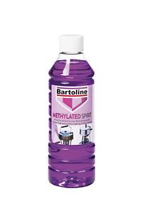 Bartoline Methylated Spirit 500ml  Meths