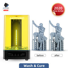 3D Printer Wash&Cure Machine 2-in-1 UV Resin curing for 3d printer cure