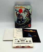 Golden Axe Commodore 64 C64 Boxed Tested Inc The Rare Poster Never Been Unfolded