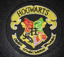 "Harry Potter Hogwarts Iron On Embroidered Size 3"" Inch Patch"