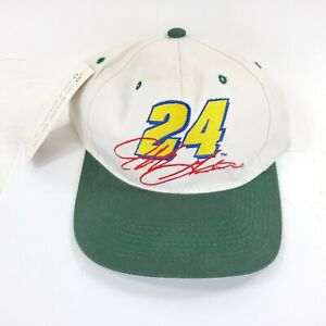 VTG Chase 1996 Jeff Gordon 24 Snapback Hat Quaker State Racing Winston Cup Green