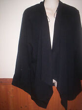 """BRAND NEW BLACK NEW LOOK CURVES CREPE JACKET SIZE BUST 30 IS 58"""""""