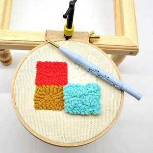 DIY Wooden Cross Stitch Machine Embroidery Round Hoop Ring Sewing Fixed Hoop CS
