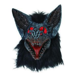 Uomo Halloween Party Pipistrello Vampiro Maschera Costume Horror Accessorio