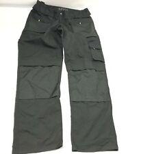 Storvik Mens Workwear Cargo Pants Straight Leg Solid Black Size 2XL New G34
