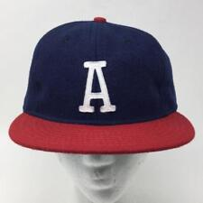 Austin Braves Baseball Cap Ebbets Field Flannel NEW Size 8