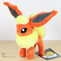 Pokemon Center Original Small Plush Flareon S size doll Toy Japan