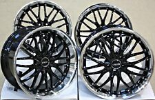 """ALLOY WHEELS X 4 18"""" 5X112 STAGGERED CONCAVE ALLOYS DEEP DISH CRUIZE 190 BP"""