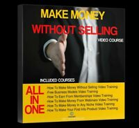 How to Make Money Without Selling Webinar