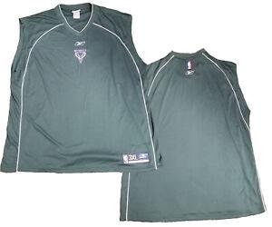 Reebok NBA Basketball Men's Milwaukee Bucks Shooting Shirt, Green