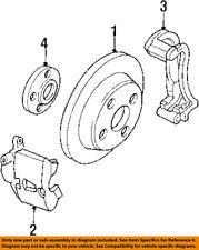 Saturn GM OEM 91-02 SL2 Front Brake-Disc Rotor 21012880
