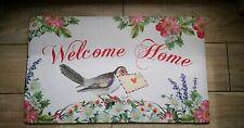 FußmatteTürmatte Matte Fußabtreter Welcome Home.... . Shabby Vintage