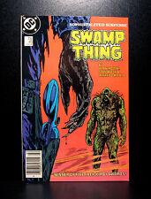 COMICS: DC: Saga of the Swamp Thing #45 (1980s), John Constantine app - RARE