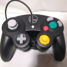 Used Nintendo Game Cube Controller Super Smash Bros Black  Ultimate Edition F/S
