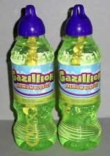 Gazillion Premium Bubble Solution - 2 Bottles, 1 Liter Bottles 33.8 fl. oz Each