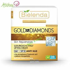 CELEBRITY COLLECTION Gold & Diamonds Lifting Day Cream SPF10 ANTI-AGE Bielenda