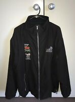 TEAM NEW ZEALAND SAILING MEN'S JACKET SIZE XL EMBROIDERED SPONSORS VGC