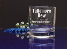Personalised TULLAMORE DEW Engraved Whisky/Tumbler Gift Glass-BIRTHDAY X-MAS 77