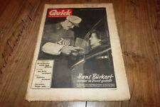 Quick 8/1953 Nick Knatterton der indische Diamantenkoffer von Manfred Schmidt