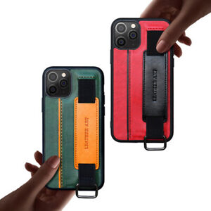 For iPhone 11 6 7 8 12 Wristband Card Cover Anti-Fall Phone Protective Case New