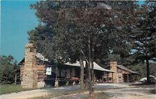 Honeybee KY~Falls 4H Mountain Craft Center~Log Cabin~Volkswagen~1960s Postcard