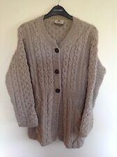 Carraig Donn Merino Wool Cardigan Size S