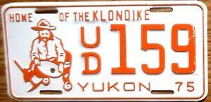 1975 Yukon License Plate Number Tag – NICE PLATE