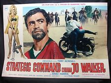 FOTOBUSTA CINEMA - STRATEGIC COMMAND CHIAMA JO WALKER -T. KENDALL-1967-AVVENTURA