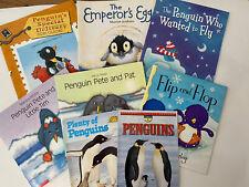 Lot Of 8 Penguin Themed Children's Books.