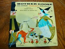MOTHER GOOSE ORIGINAL 1958 LP FEATURING BORIS KARLOFF VG+ VINYL