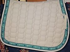 New Ovation A/P English Riding Pad Quilted w/Billet/Girth Strap