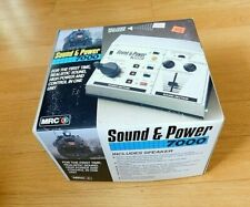 New in Box MRC 7000 Sound & Power HO N G Scale Train Power Transformer w Speaker