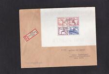 Dt.Reich, Reco Brief mit EF von Block 6 aus Berlin nach Hörne