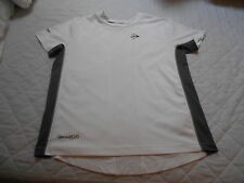 Nike Dri-Fit Tennis Bianco Poliestere Elastan T-shirt Top 465286 100 UA12