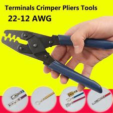 22-12 AWG Electrical Terminal Crimp Plier Crimper Wire Stripper Crimping Tool UK
