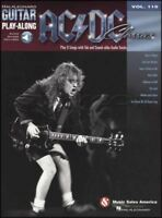 AC/DC Classics Guitar Play-Along TAB Music Book with Backing Audio Heavy Rock