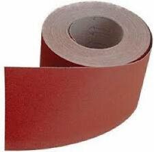 50 M Sait Schleifmittel Sandpapier Aluminium Oxid Rolle Abrieb Papier P120