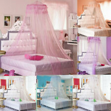 Kids Girls Princess Mosquito Net Lace Dome Bed Canopy Fly Insect Protect Net g1
