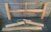Folding Buck Saw with two blades/bushcraft/camping/survival/prepper