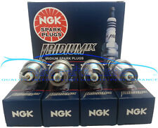MITSUBISHI EVOLUTION EVO VIII 8 LANCER NGK IRIDIUM SPARK PLUGS 4G63T 03 04 05