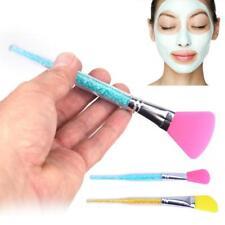 Pennello In Silicone Applicatore Maschera Viso Facciale Fango Bellezza Donna dfh