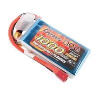 Gens ace Pack Soft LiPo 3S-11.1V-30C-1000 (DEANS) GE1-1000-3D