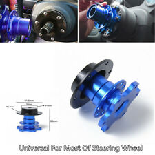 1xCar Steering Wheel Fast Quick Release Hub Adapter Snap Off Boss W/Screw Brench