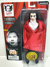 """Mego Dracula 8"""" Inch Action Figure Monster Lugosi MOC Red Cape"""