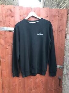 Stone Island Black Sweatshirt Size Large