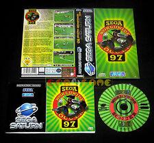 SEGA WORLDWIDE SOCCER 97 Sega Saturn Versione Italiana ••••• COMPLETO