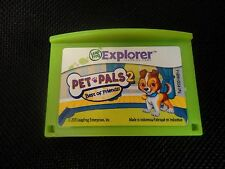 Leapfrog Leapster Explorer PET PALS 2  Game Leap Pad, Leap Pad 2,3,GS, XDi Ultra