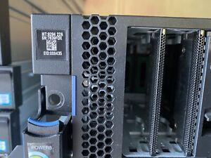 IBM POWER SYSTEM S822 P/N 8284-22A 32GB RAM 93ZZ CPU 00UM260 OILK379 SERVER