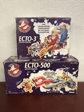 The Real Ghostbusters: Ecto-3 & Ecto-500, German Release. NIP, With Bonus Fig.